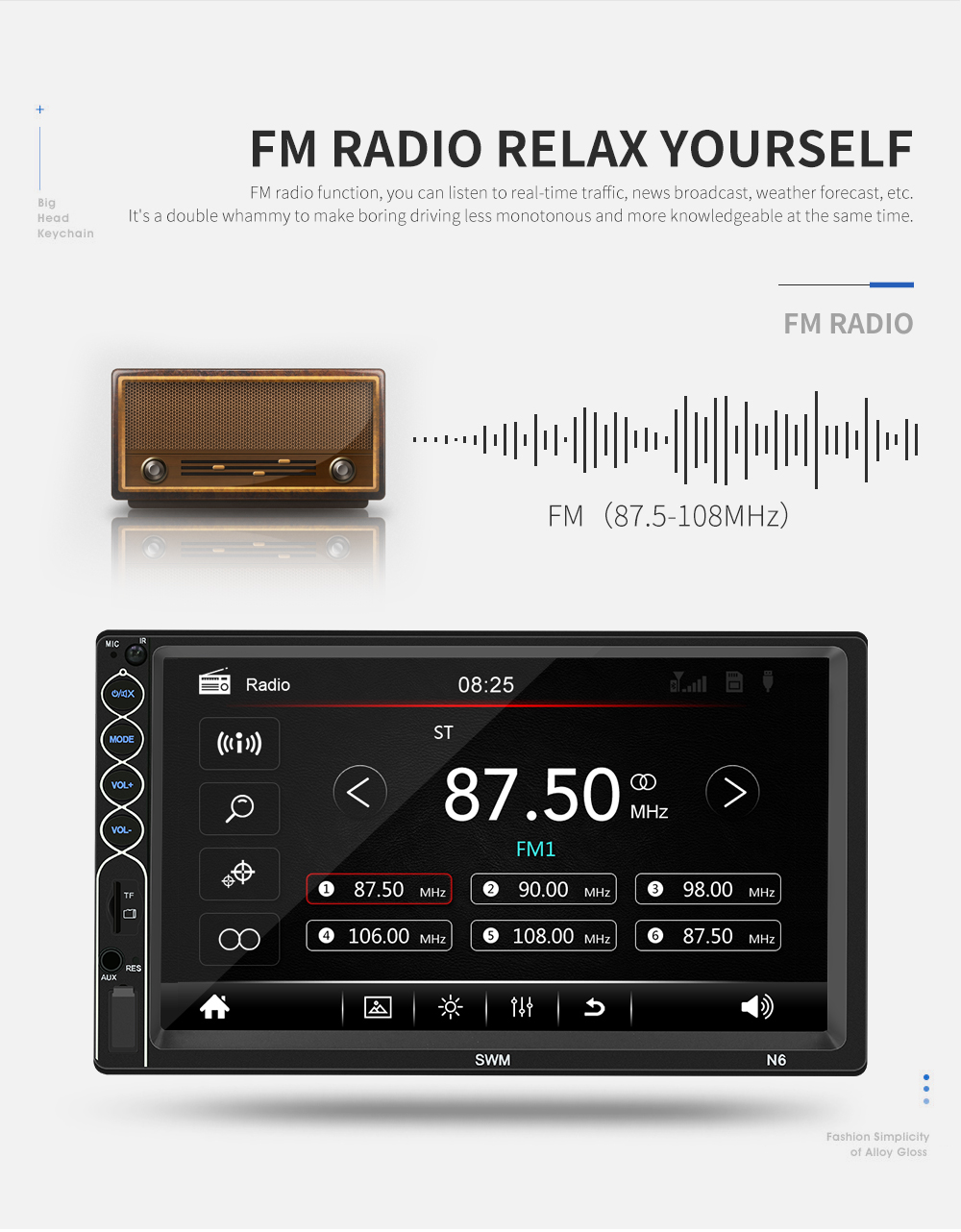 N6 car radio mp5 player (31)