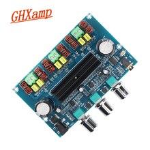 GHXAMP Bluetooth усилитель аудио Плата Bluetooth 5,0 TPA3116D2 2,1 канала 50 Вт + 50 Вт + 100 Вт Новый