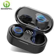 BassPal Wireless Bluetooth 5.0 Earbuds Headset in-Ear Noise Canceling Sport Earp