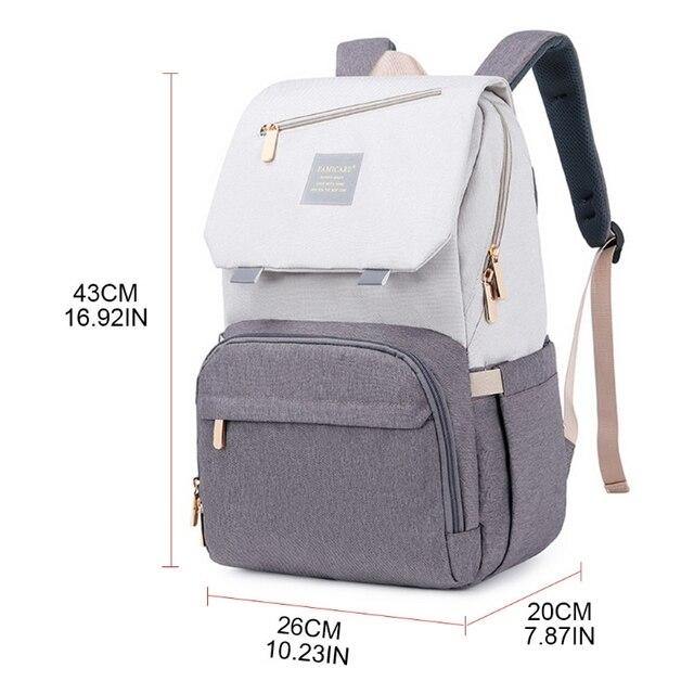 Фото сумка для подгузников мам вместительный рюкзак ухода за ребенком цена