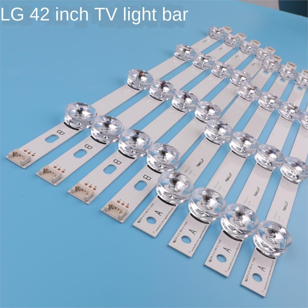8PCS 825mm LED Backlight Strip 8leds For LG 42 Inch TV INNOTEK DRT 3.0 42