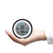 °C/°f termômetro digital higrômetro temperatura medidor de umidade max min valor tendência exibição