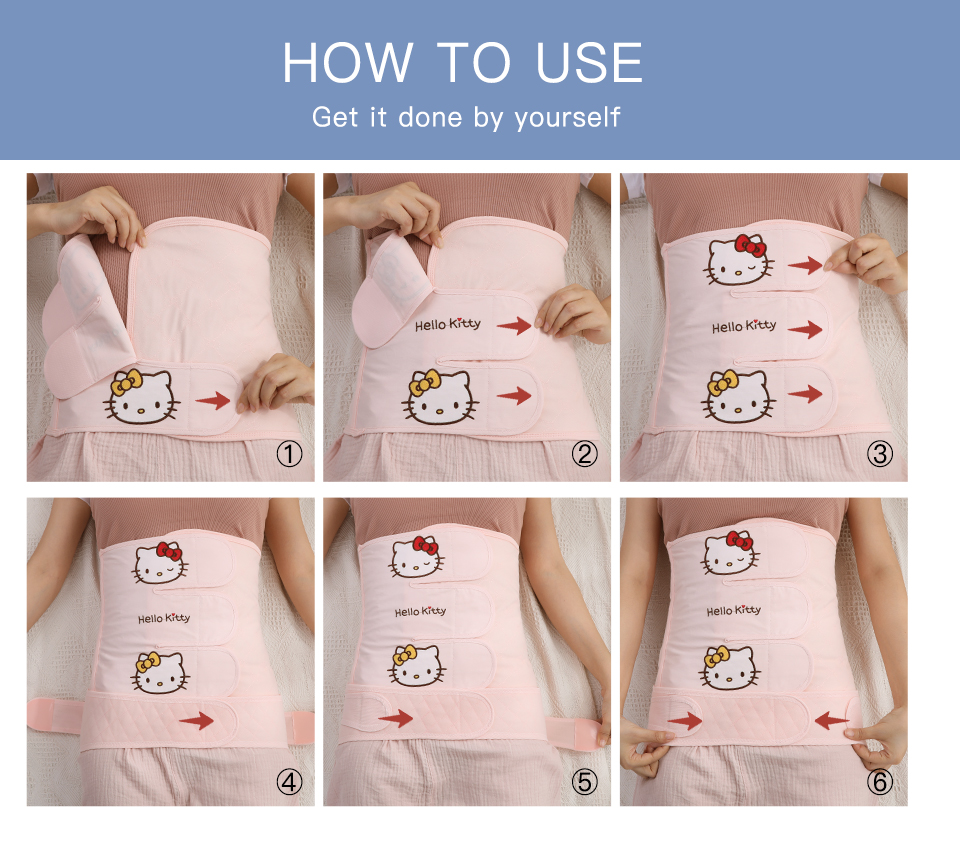 Women who have C section delivery need to take care of their abdomen with postpartum belly belts