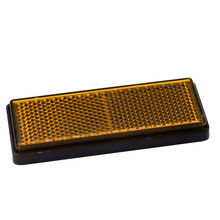 Sign-Board Reflector Safety-Truck-Plate Orange 10pcs Car