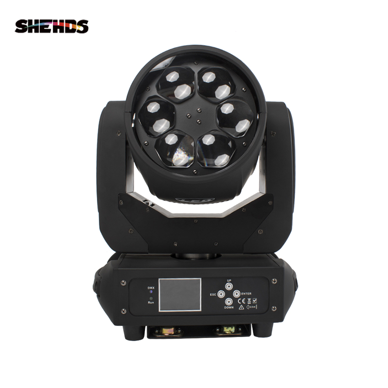2PCS 6x40W Bee Eyes Moving Head Light RGBW 4in1 LED Wash Zoom Moving Head DMX512 Stage Light DJ Disco Nightclub Event|Stage Lighting Effect| |  - title=