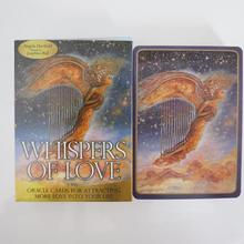 Deck Board-Game Oracles-Cards Whisper Love Divination New Tarot of for Women Girls Mysterious