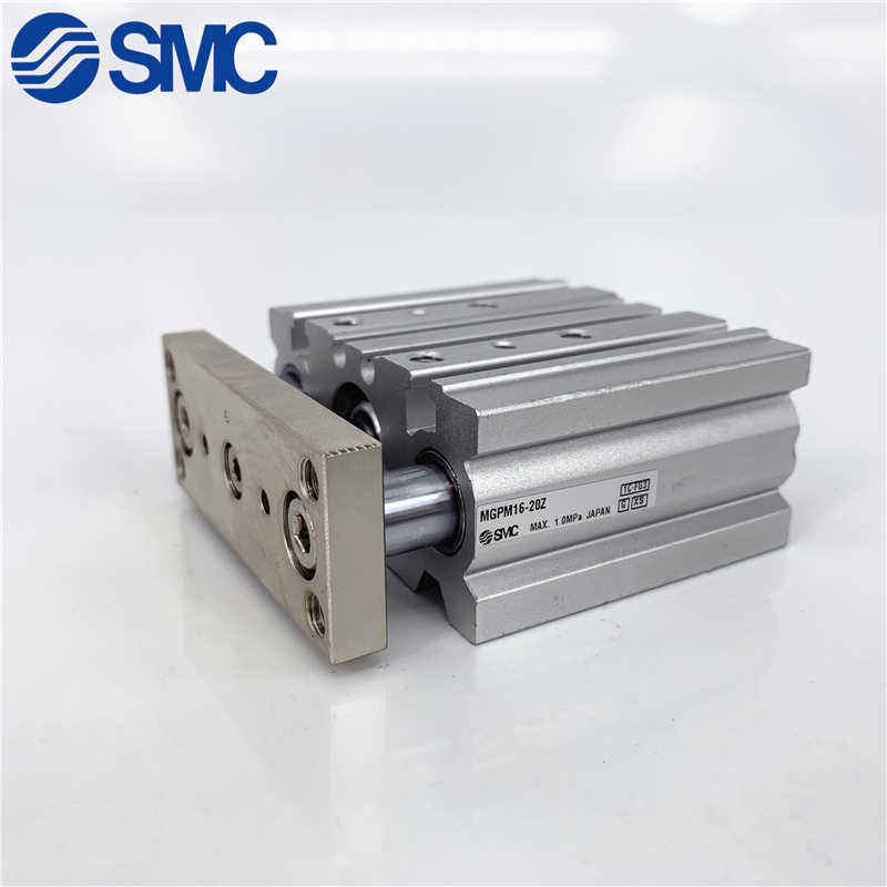 Lot of 2 Details about  / SMC Pneumatics MGPM16-75 Single Rod Compact Guided Air Cylinders