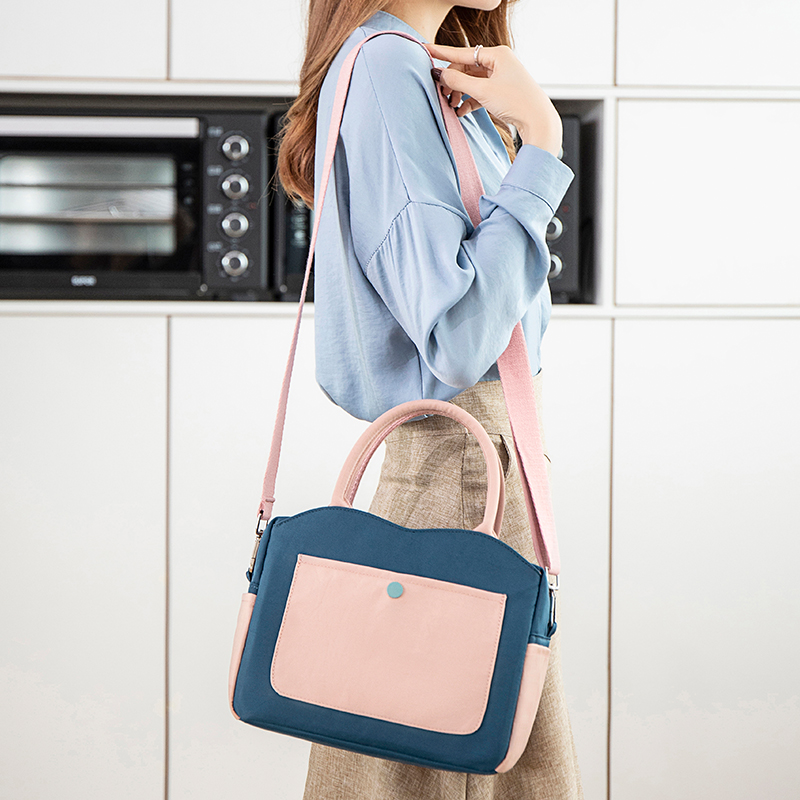 Fashion Portable Lunch Bag New Thermal Insulated Lunch Box Tote Cooler Handbag Bento Pouch Dinner Container School Food Storage