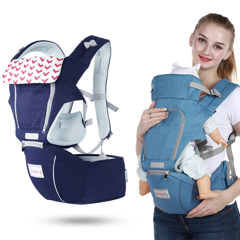 Gabesy New Baby Carrier + Hipseat VS Sunveno Multifunctional Lightweight Baby Holder Baby Kangaroo Cotton Baby Carier