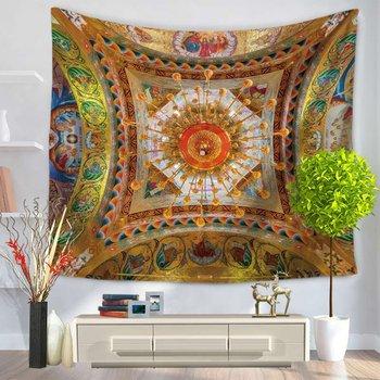 Модный гобелен с рисунком солнца, настенный гобелен, домашний декор, одеяло для пикника, пляжное полотенце, занавески для кровати