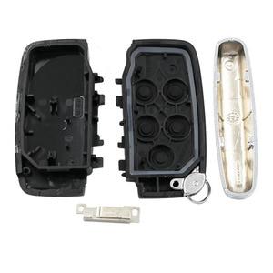 Image 5 - 5 ปุ่ม REMOTE Key SHELL กรณีสมาร์ทรถ Key ฝาครอบ FOB สำหรับ Land Rover LR4 สำหรับ Range Rover Sport evoque ด้วยคำ
