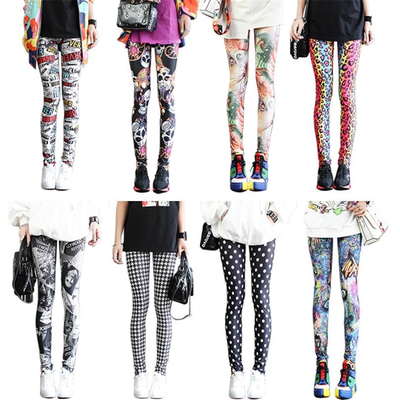 VISNXGI Leggings Floral Graffiti Patterned Print Leggins Fitness Leggings Sport Leggings Gym Pants Graffiti Print Plus Size XXXL