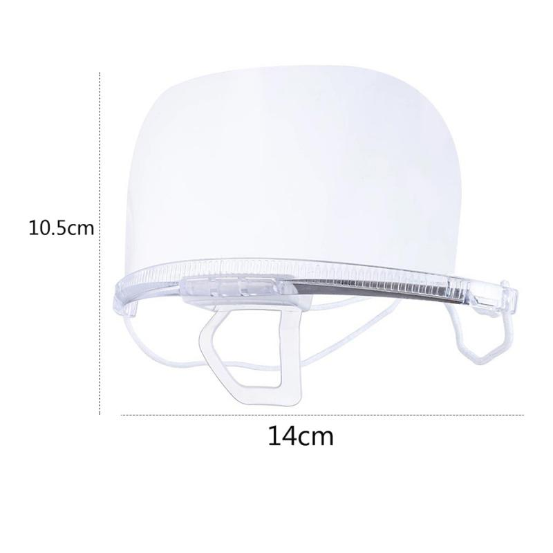 10/20Pcs Clear Face Mask with Elastic Headband for Protection from Dust/Bacteria/Virus/Flu
