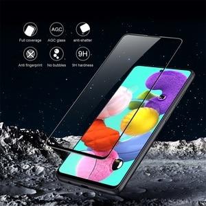 Image 2 - Samsung Galaxy A51 A71 5G M51 Note 10 Lite temperli cam tam kapsama ekran koruyucu için Nillkin 3D CP + Max cam filmi 9H