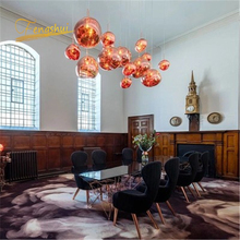Nordic PVC Pendant Lamp Design LED Lights Coffee Study Kitchen Fixtures Villa Duplex Apartment Hanging Indoor decor