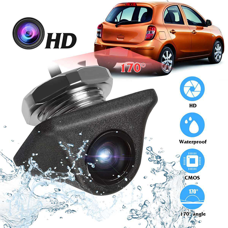 cheapest Smartour car reversing backup camera 1000L CCD HD 180 degree Fisheye Lens Rear Front view wide angle night vision parking assist