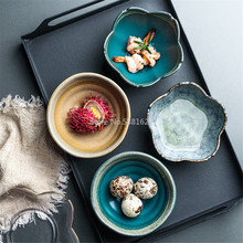 Decoration Seasoning-Bowl Ketchup Soy-Sauce-Dish Ceramic Japanese Tableware Small-Plate