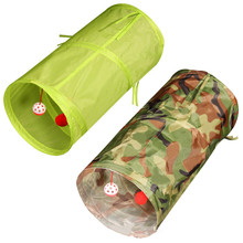 Tunnel-Toys Flat-Ball-Tunnel Owners Kitten Pet Cat Dog for Puppy