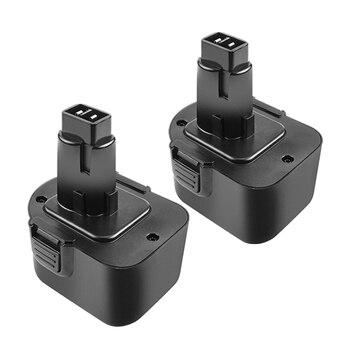 3.5Ah DC9071 Replacement for Dewalt 12V XRP Battery DW9071 DW9072 DE9037 DE9071 DE9072 DE9074 Cordless Power Tool Batteries 1