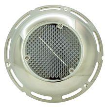 Ventiladores a energia solar caravana rv barco ventilador de entrada de exaustão ventilação de ar com interruptor de bateria de aço inoxidável capa
