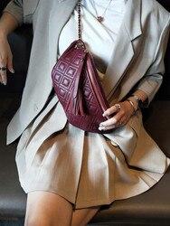 Gland sac mode style femme sacs en cuir véritable fanny packs pour sport sac de voyage en plein air pour dames filles taille sac