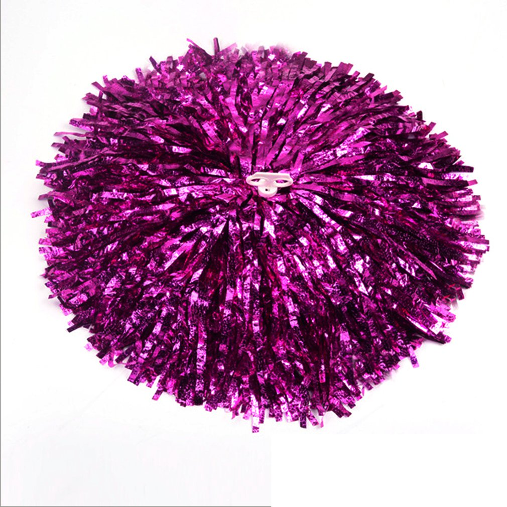 Cheer Dance Sports Supplies Competition Cheerleading Pom Poms Flower Ball Lighting Match Fancy Pom Poms