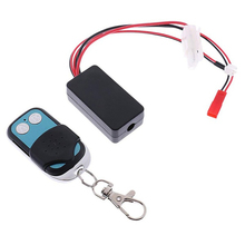 Automatic Crawler Winch Control Wireless Remote Controller Receiver For 1/10 Rc Car Off-Road Traxxas Scx10 D90 D110 Tf2 Trx4 Km2 550 12t 21t 27t 35t brushed motor for wltoys kyosho traxxas trx4 redcat 1 10 d90 d110 scx10 rc car off road crawler