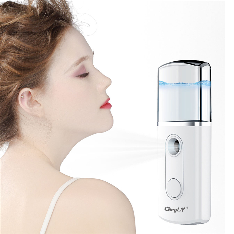 Nano Facial Mister Mini Handy Face Steamer Humidfier Cool Mist Eyelash Extensions Moisturizing Sparyer Beauty Skin Care Tools 45