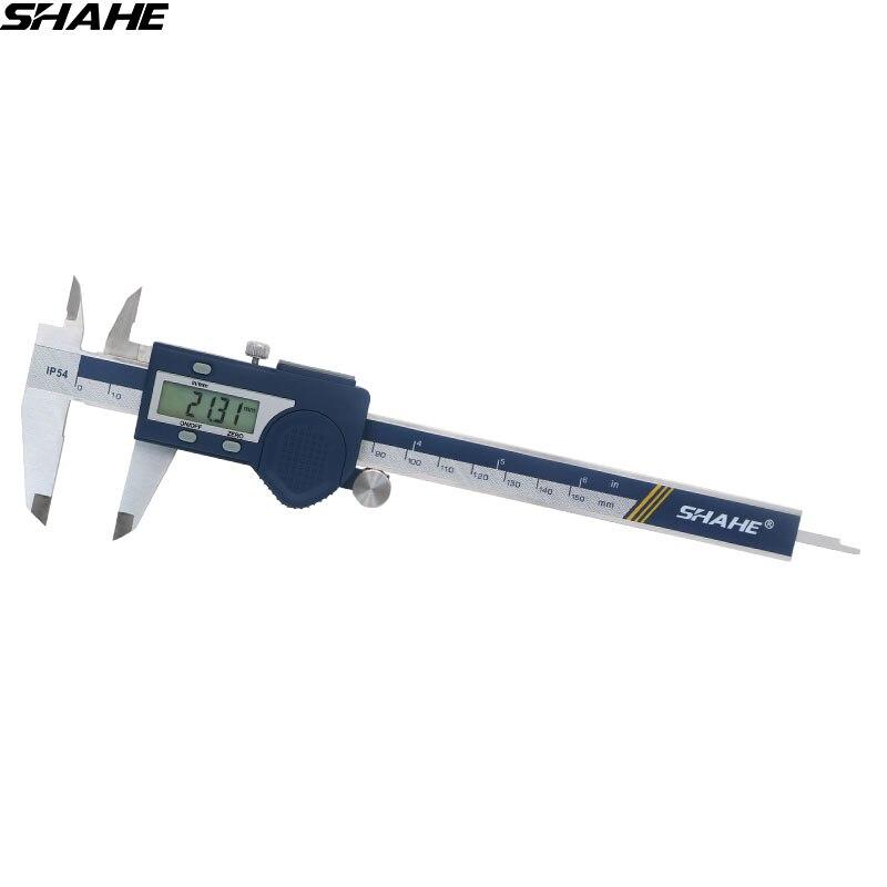 Paquímetro digital 150 mm paquímetro eletrônico paquímetro paquímetro digital 150 mm de aço inoxidável