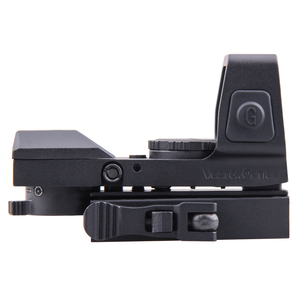 Image 3 - Vector Optics Sable 1x25x34 Tactical Multi Reticle Green Red Dot Sight with QD 20mm Weaver Mount For Dear Shooting Hunting