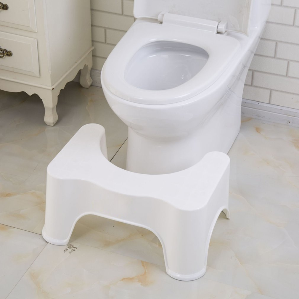 U-Shaped Squatting Toilet Stool Non-Slip Pad Bathroom Chair Helper Assistant Foot Seat Relieves Constipation Piles For Kids