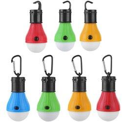 Mini Tragbare Zelt Licht Led-lampe Notfall Lampe Wasserdichte Hängen Haken Camping Taschenlampe TB Verkauf
