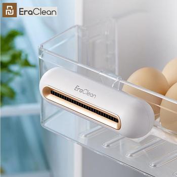 Xiaomi EraClean lodówka dezodorujący sterylizator domowy kuchnia oczyszczacz ozonu utrzymujący świeży akumulator dezodorant tanie i dobre opinie CN (pochodzenie) Gotowa do działania 1 18 WEJŚCIE 10 kanałów EraClean Refrigerator Deodorizing Sterilizer Household Kitchen