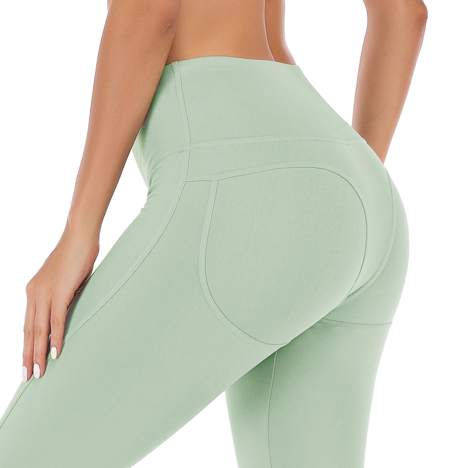 High Waistline Famous Peach Buttocks S Pants Running Training Quick-drying Fitness Pants Spring And Autumn Leggings