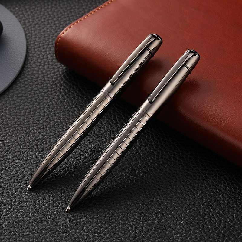 Guoyi A209 Business High-end Ballpoint Pen Metal Pen Heavy Feel Simple Signature Pen High Quality Hotel Business G2 424 Pen