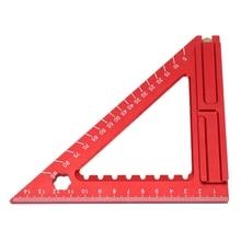 Carpenter Woodworking Triangle Square Tool Folding Measuring Frame Ruler