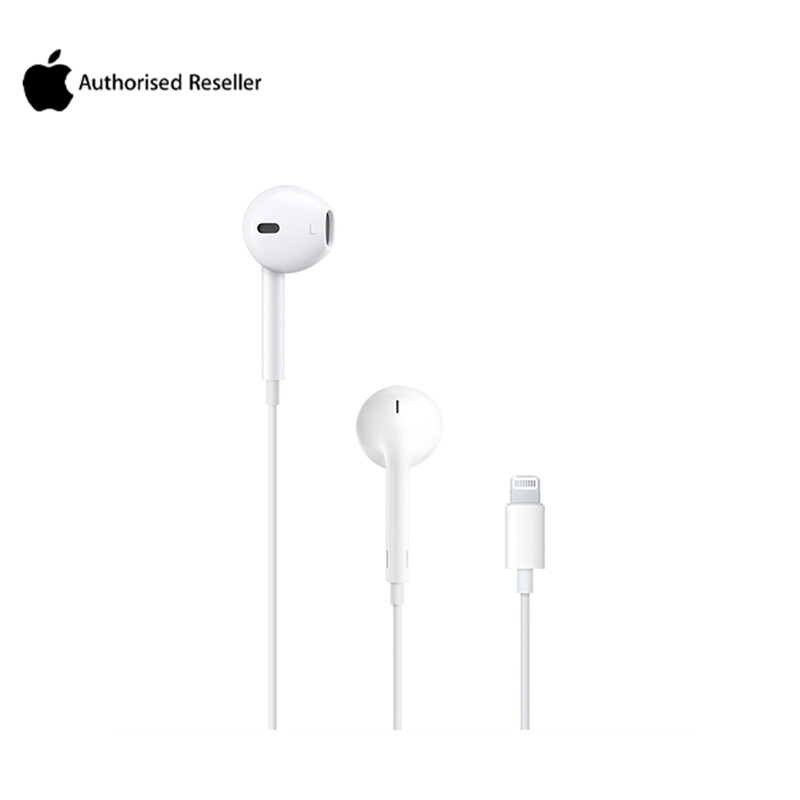 Authentic Apple Earphone for Mobile Phone Apple EarPods with Lightning Ear phones For iPhone 7/8/X/XS/XS MAX iPad Mac with Mic