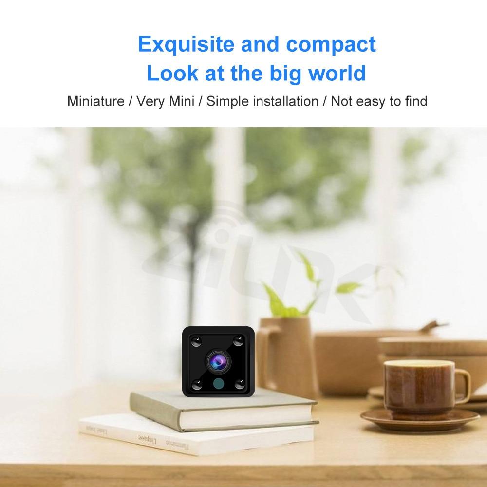 Image 2 - Mini caméra caméscope HD IP 1080P  Caméra à Vision nocturne, WIFI, batterie intégrée, petite caméra de Surveillance sans filCaméras de surveillance   -