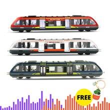 Моделирование сплава металла высокоскоростной рельс литья под давлением поезд Игрушка модель обучающие игрушки для мальчиков детская коллекция подарок