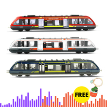 Simulation Alloy Metal High Speed Rail Diecast Train Toy Model Educational Toys Boys Children Collection Gift #