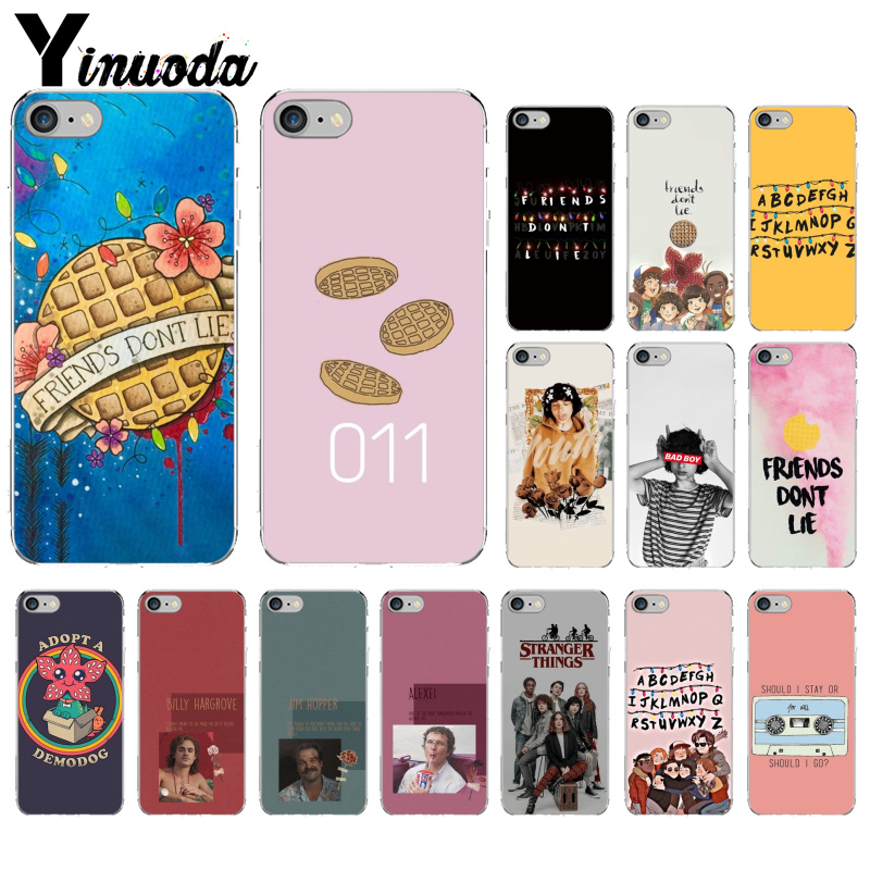 Yinuoda <font><b>Stranger</b></font> <font><b>things</b></font> season 3 Colorful Cute <font><b>Phone</b></font> Accessories <font><b>Case</b></font> for Apple <font><b>iPhone</b></font> 8 7 6 6S Plus X XS MAX 5 5S SE <font><b>XR</b></font> Cover image
