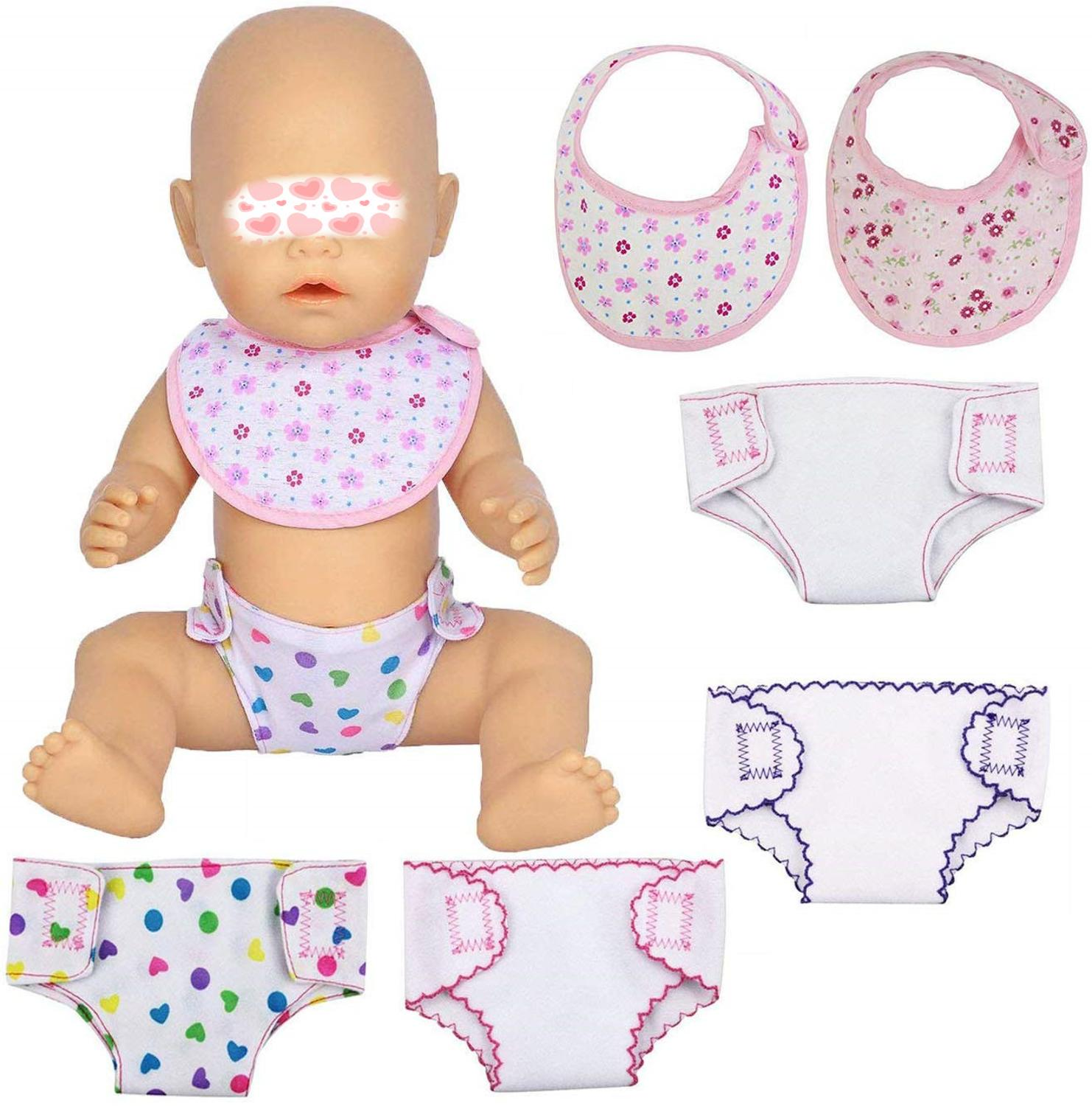 2Pcs 43cm  Doll Or 18 Inch  Doll Clothes Underpants TO