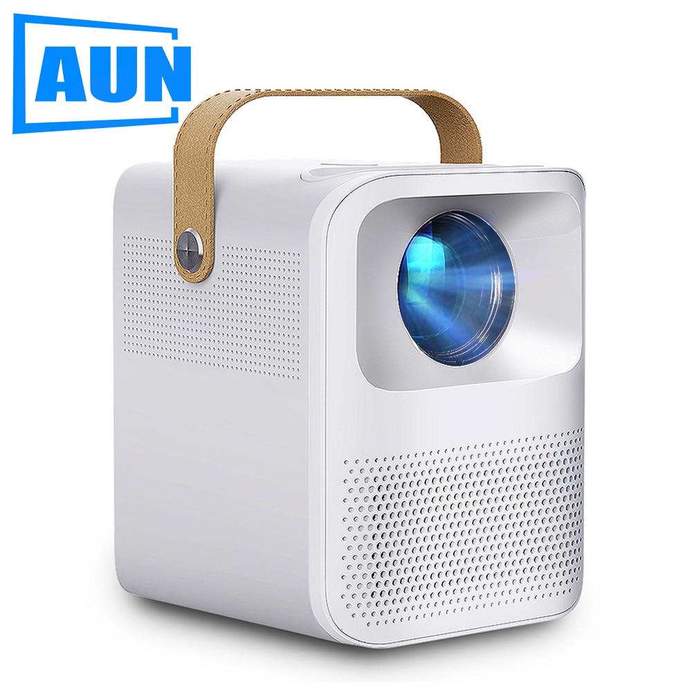 ET30 AUN мини-проектор Full HD 1080P Beamer Videoprojecteur светодиодный проектор для домашнего мобильный WI-FI Android Поддержка 4K видео проектор