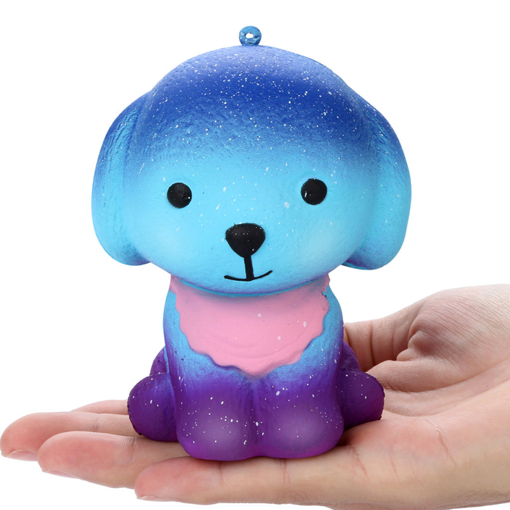 Antistress Toys Slow Rishing Adorable Galaxy Puppy Children Funny Gadgets Children's Home Decoration Kids Toys #A
