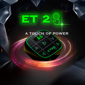 EZ Easy Touch 2-fuente de alimentación para máquina de tatuaje, pantalla LCD, botones de luz