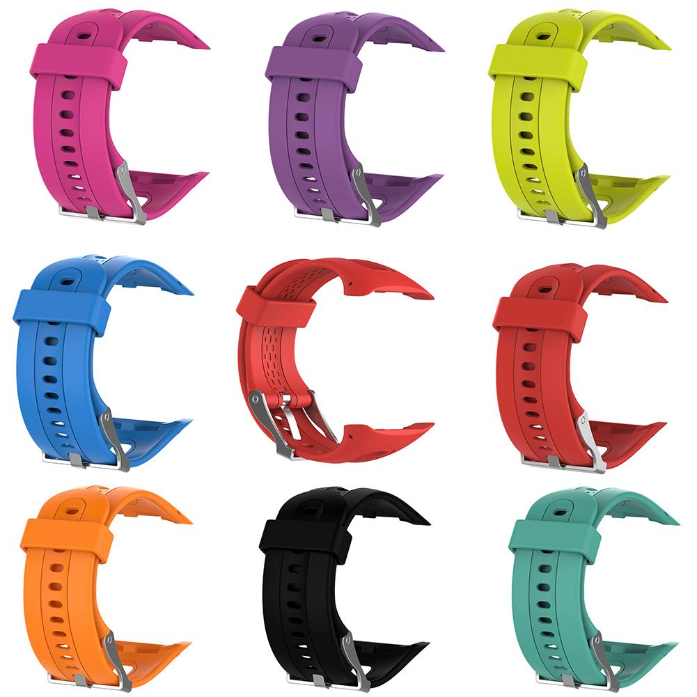 Replacement Watch Strap Silicone Unisex Watch Band Wrist Strap For Garmin Forerunner 10/15 часы наручные Watch Band