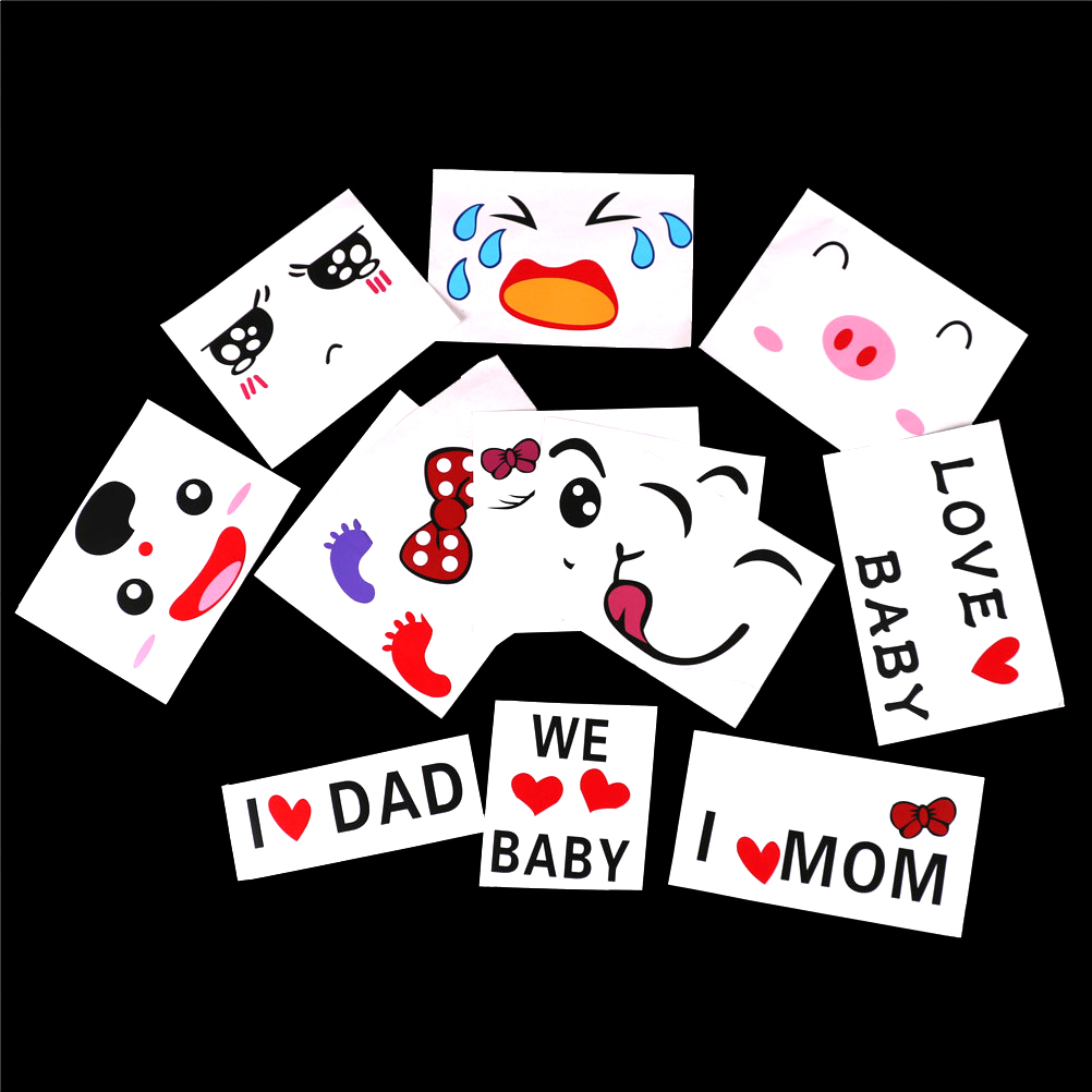 Pregnant Women Temporary Tattoos For Therapy Maternity Photo Props Pregnancy Photographs Belly Painting Photo Stickers Set