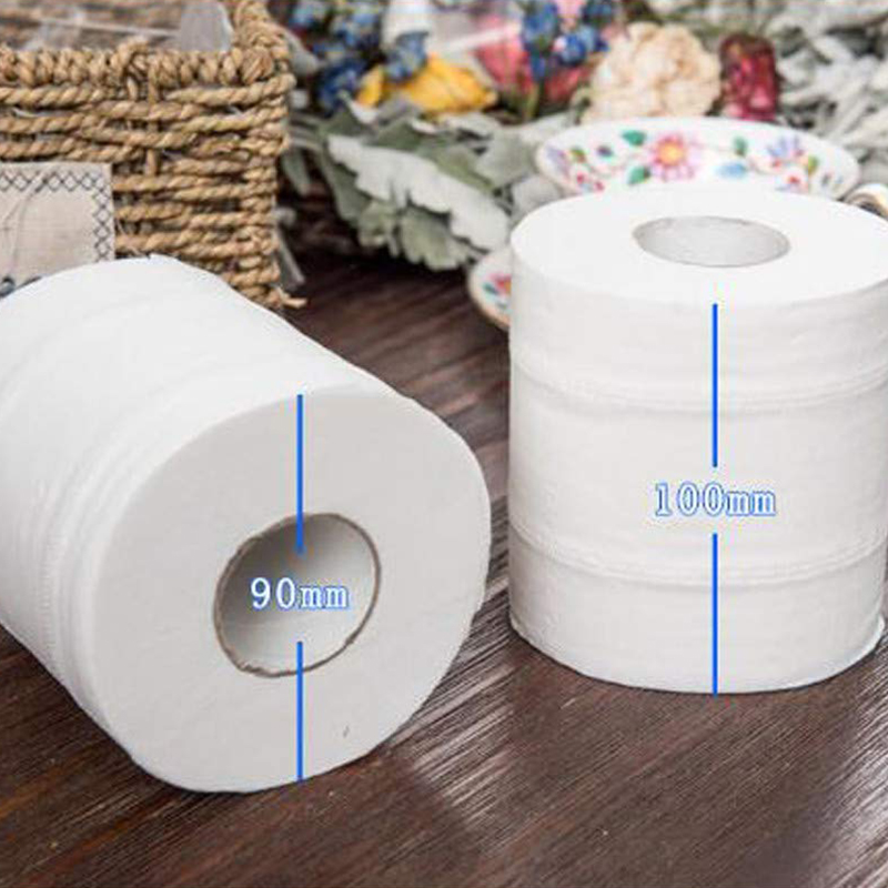 1/2/3/4/5/6 Rolls Toilet Paper Tissue 4 Layer Household Soft Skin-Friendly For Home Bathroom HSJ88