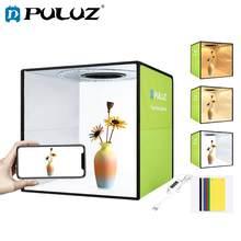 Puluz 30cm Photo Light Box Mini Foldable Photo Studio Box Photography LED Lightbox Studio Shooting Tent Box Kit & 6 Backdrops