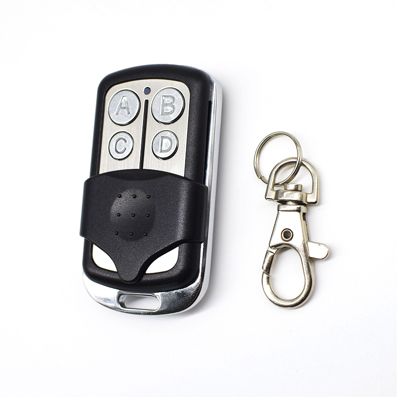 Universal 433,92MHz Duplicator Garage Door Gate Remote Control Command Rolling Code Fixed Code 433mhz Gate Control Key Fob